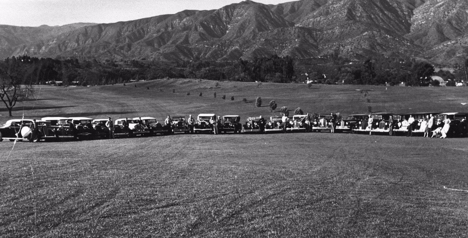 Historic Image of Golf Course at Ojai Valley Inn