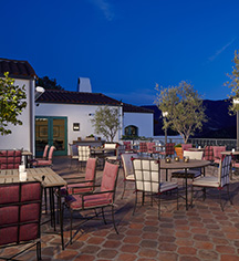 Dining at      Ojai Valley Inn  in Ojai