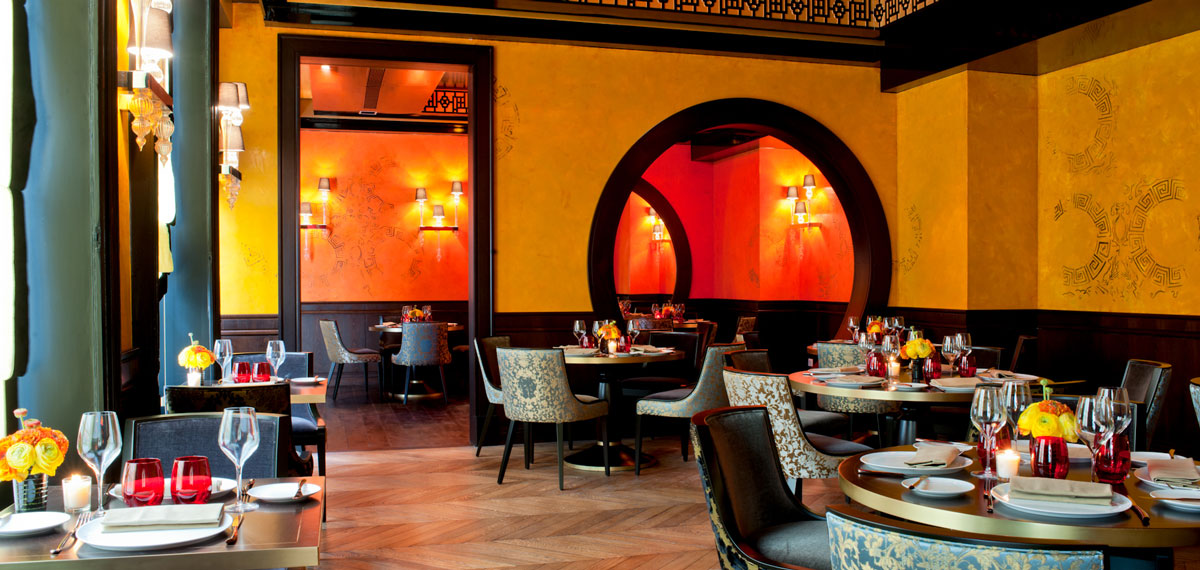 Dining:      Buddha Bar Hotel Paris  in Paris