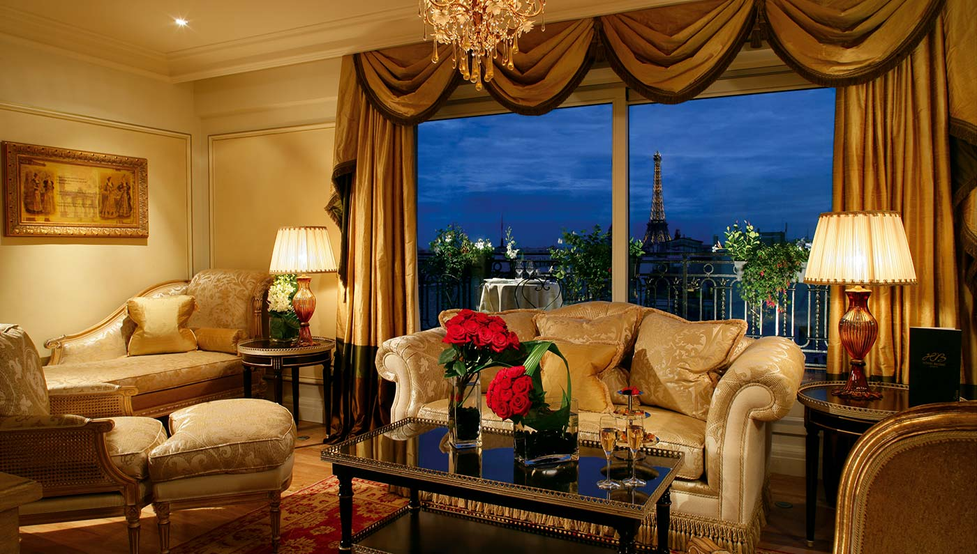 7 Paris Hotels with Eiffel Tower Views | Architectural Digest