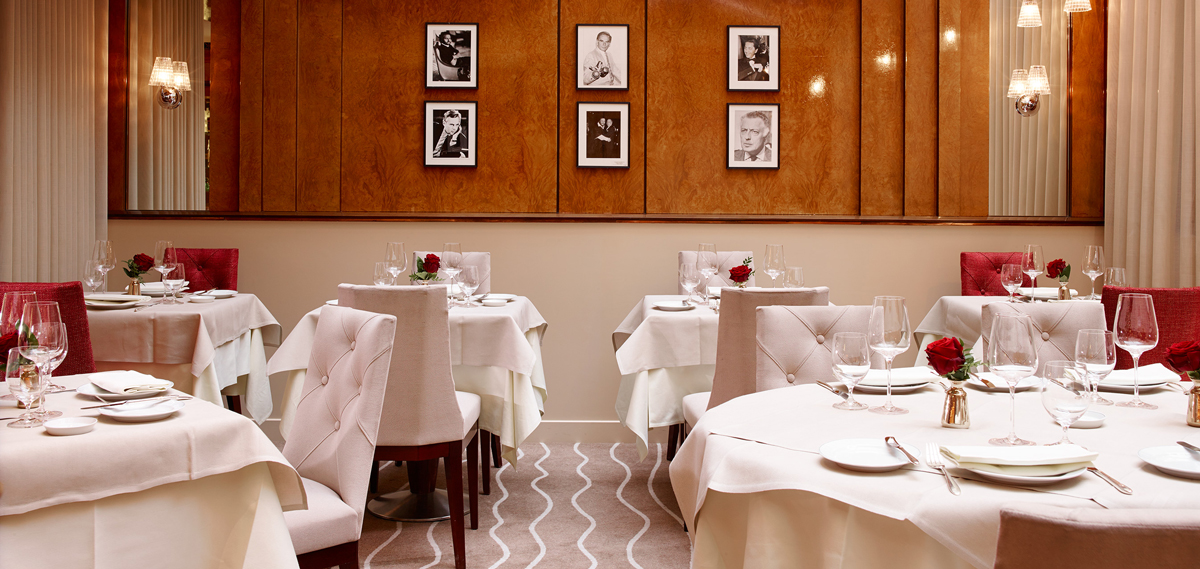 Dining:      Hotel de Vigny  in Paris