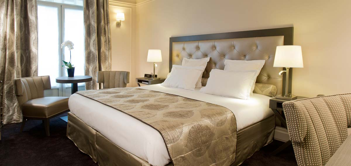 Accommodations:      Hotel California Paris Champs Elysees  in Paris