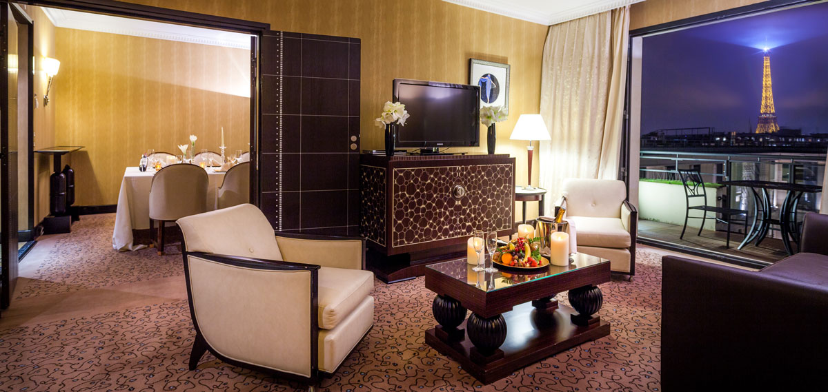 Accommodations:      Hotel du Collectionneur Arc de Triomphe Paris  in Paris