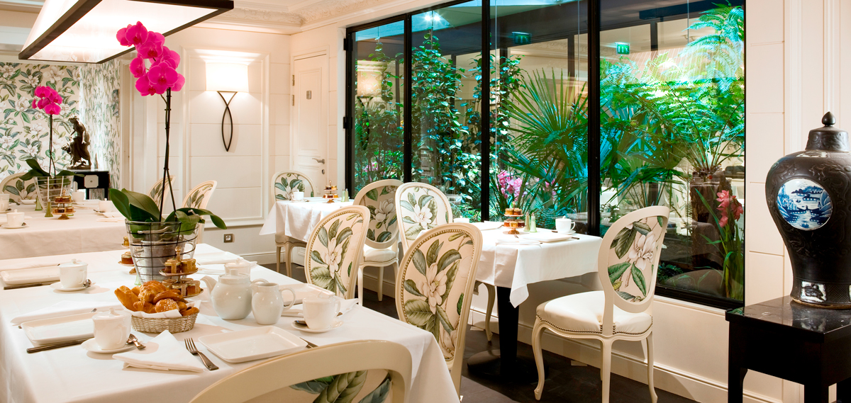 Dining:      Hotel Keppler  in Paris