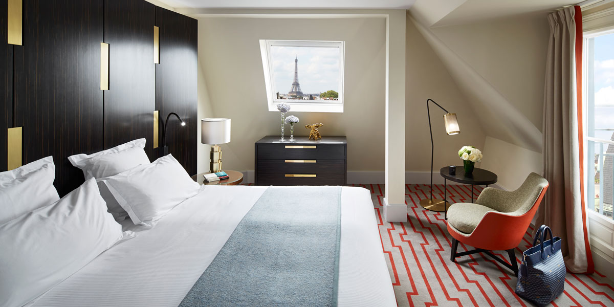 Accommodations:      Montalembert  in Paris