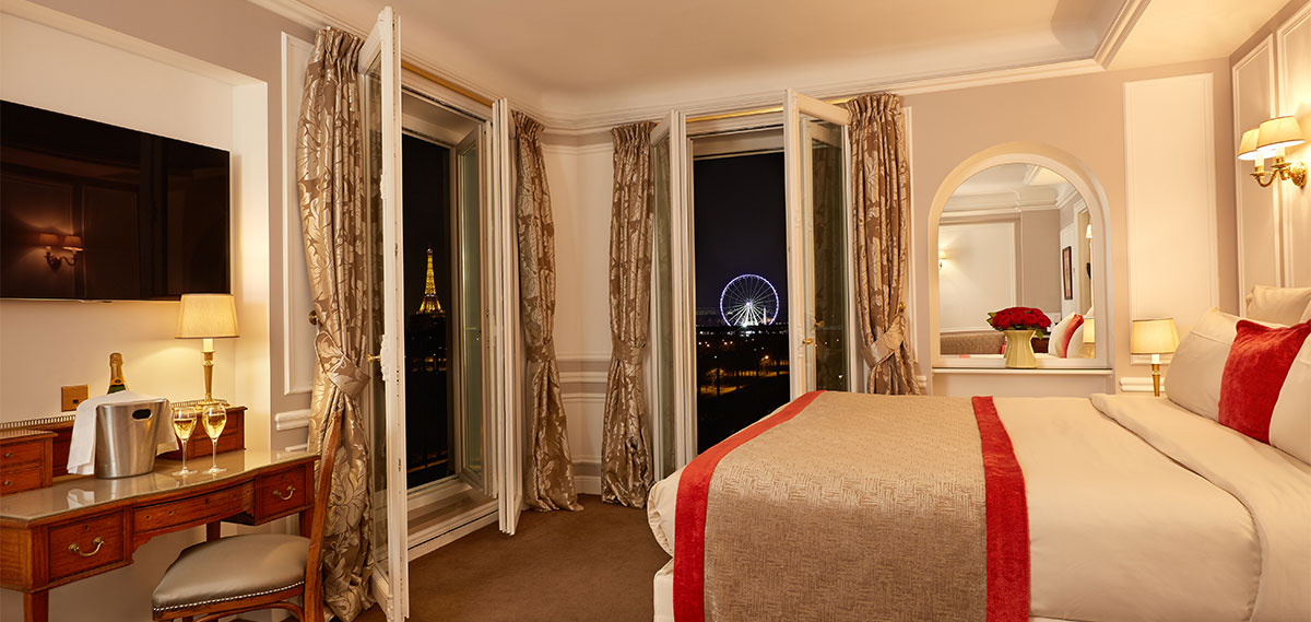 Accommodations:      Hotel Regina  in Paris