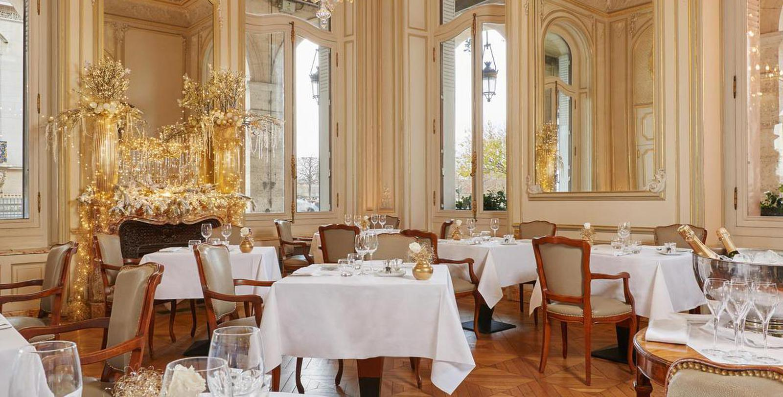 Image of Restaurant, Hotel Regina Louvre, Paris, France, 1900, Member of Historic Hotels Worldwide, Taste