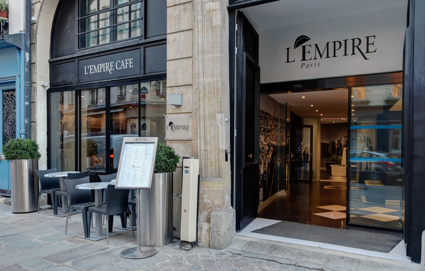 Activities:      L'Empire Paris  in Paris