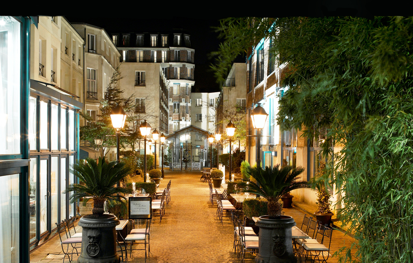 Luxury hotel in paris les jardins du marais boutique for Jardins a visiter a paris