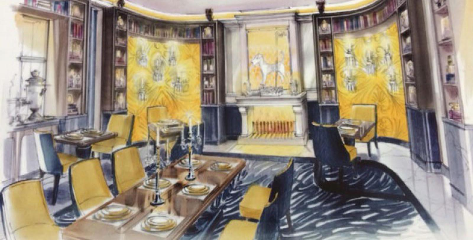 Image of Dining Area in Library Maison Astor Paris, Curio Collection by Hilton, 1907, Member of Historic Hotels Worldwide, in Paris, France, Discover