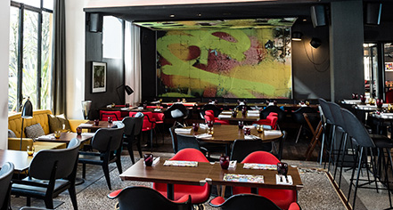 Dining at      Hôtel Molitor Paris - MGallery by Sofitel  in Paris