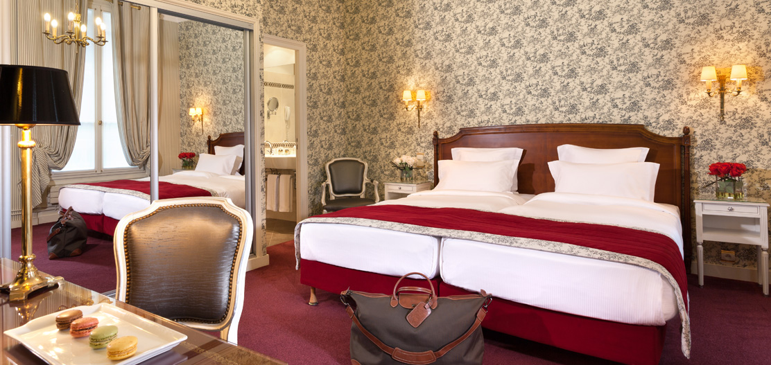 Accommodations:      Hotel Mayfair  in Paris