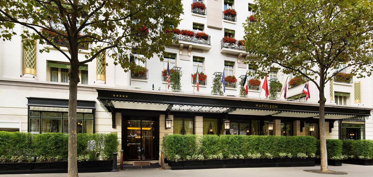 Five Star Paris Hotel Hotel Naplean Paris Luxury Paris