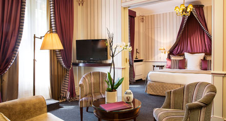 Accommodations:      Hotel Napoleon Paris  in Paris