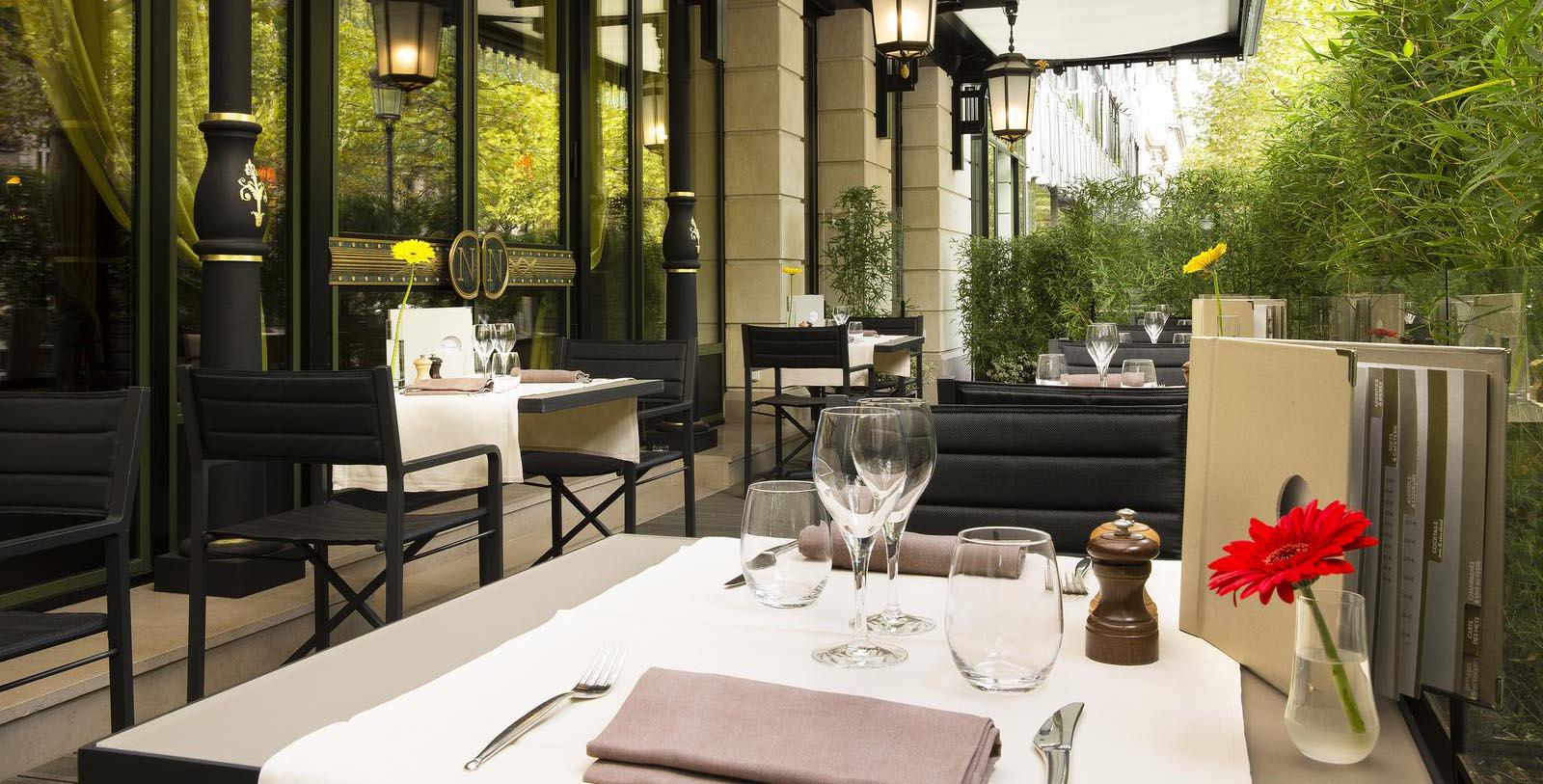 Image of Terrace Restaurant, Hotel Napoleon Paris, France, 1928, Member of Historic Hotels Worldwide, Taste