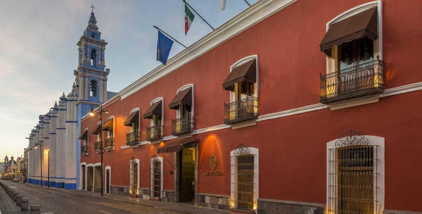 Image of Hotel Exterior Quinta Real Puebla, 1593, Member of Historic Hotels Worldwide, in Puebla de Zaragoza, Mexico, Overview