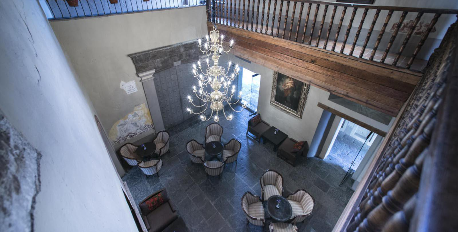Image of Lounge Area Quinta Real Puebla, 1593, Member of Historic Hotels Worldwide, in Puebla de Zaragoza, Mexico, Hot Deals