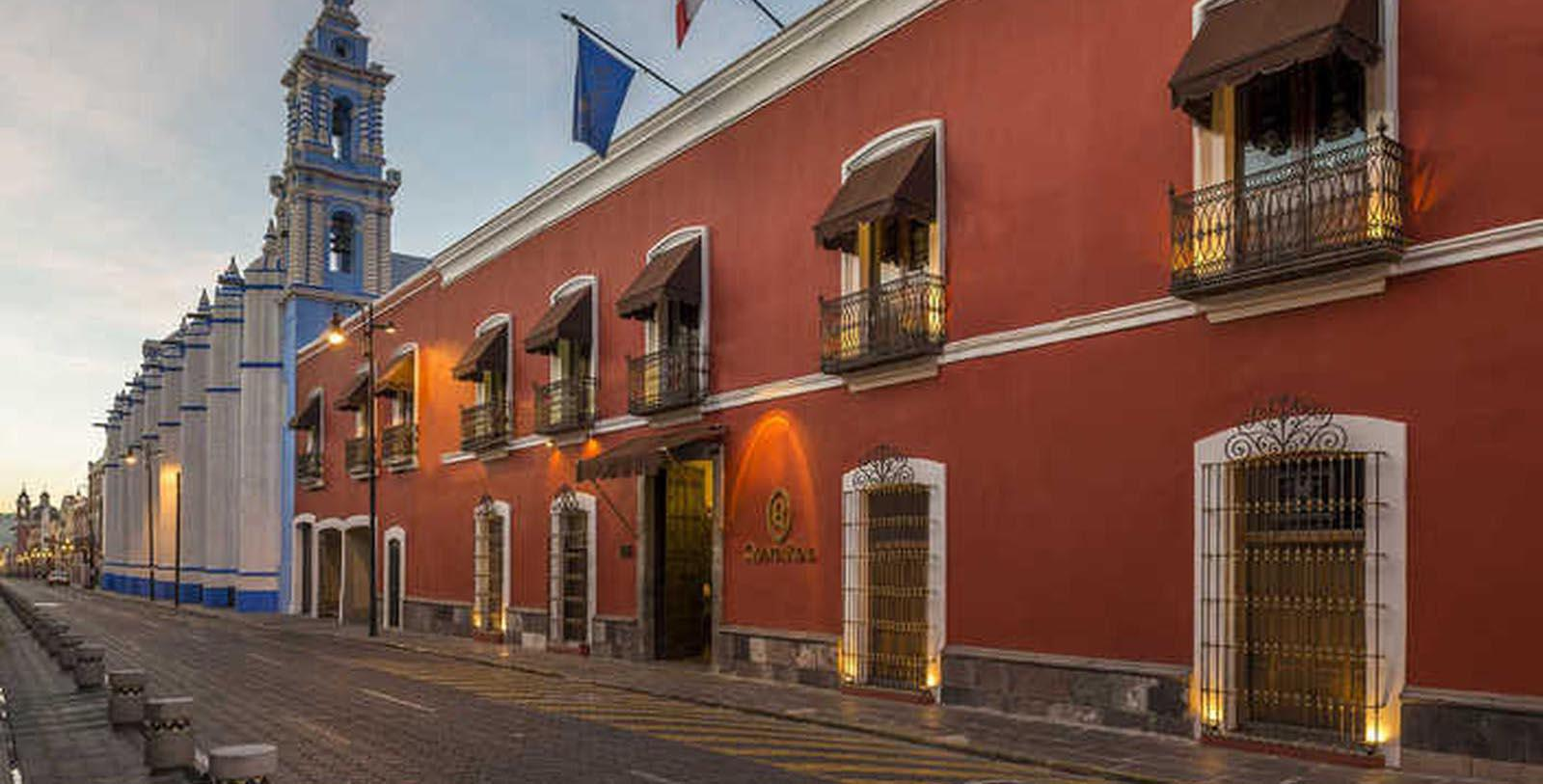 Image of Hotel Exterior Quinta Real Puebla, 1593, Member of Historic Hotels Worldwide, in Puebla de Zaragoza, Mexico, Special Offers, Discounted Rates, Families, Romantic Escape, Honeymoons, Anniversaries, Reunions