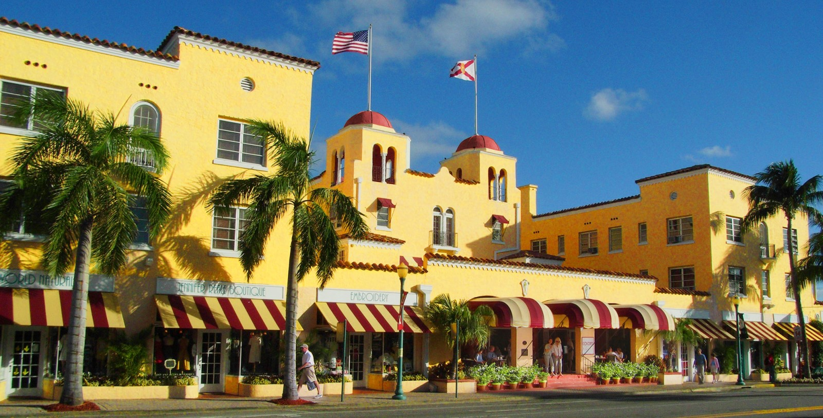 Image of Hotel Exterior at Colony Hotel & Cabana Club, 1926, Member of Historic Hotels of America, in Delray Beach, Florida, Overview