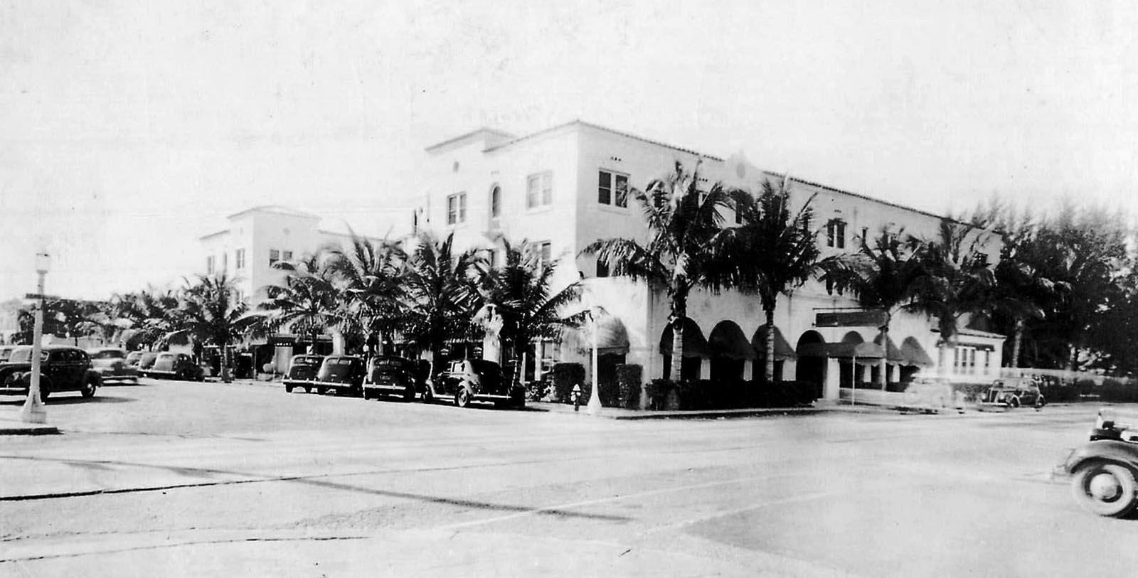 Historic image of hotel exterior at Colony Hotel & Cabana Club, 1926, Member of Historic Hotels of America, in Delray Beach, Florida, Discover