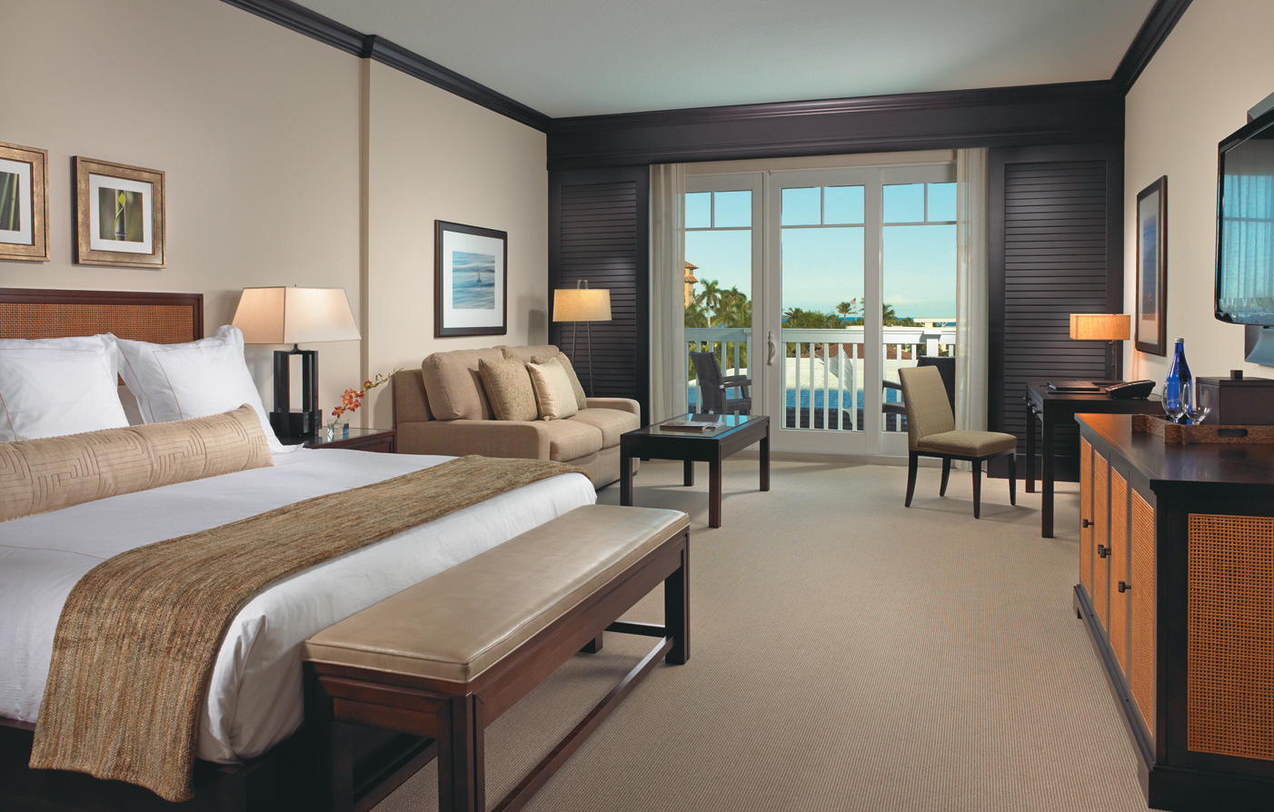Accommodations:      The Seagate Hotel & Spa  in Delray Beach