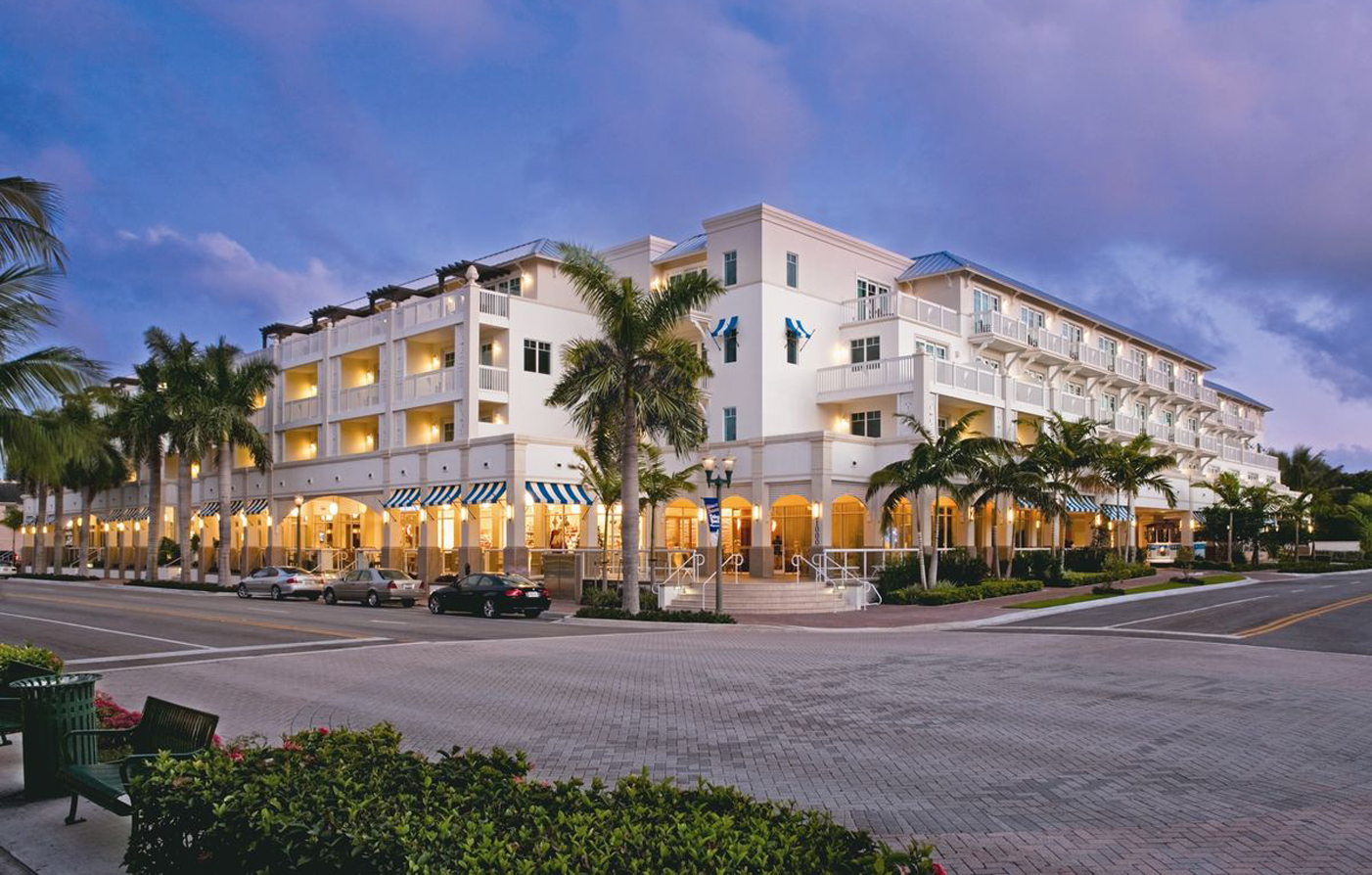 The Seagate Hotel & Spa  in Delray Beach