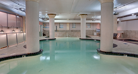 Image of pool at Embassy Suites by Hilton Portland Downtown, 1912, Member of Historic Hotels of America, in Portland, Oregon, Experience