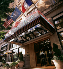 The Heathman Hotel  in Portland