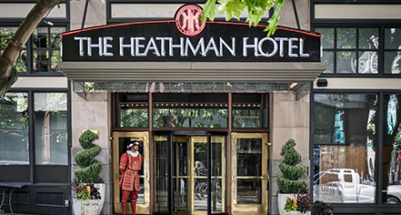 History:      The Heathman Hotel  in Portland