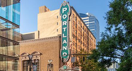 Local Attractions:      The Heathman Hotel  in Portland