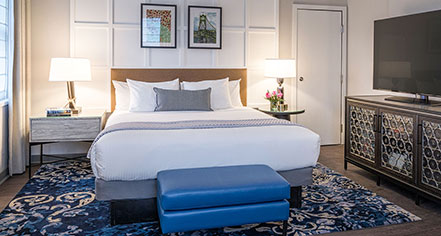 Accommodations:      The Heathman Hotel  in Portland
