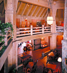 Dining at      Timberline Lodge  in Timberline Lodge