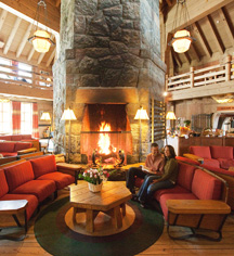 Timberline Lodge  in Timberline Lodge