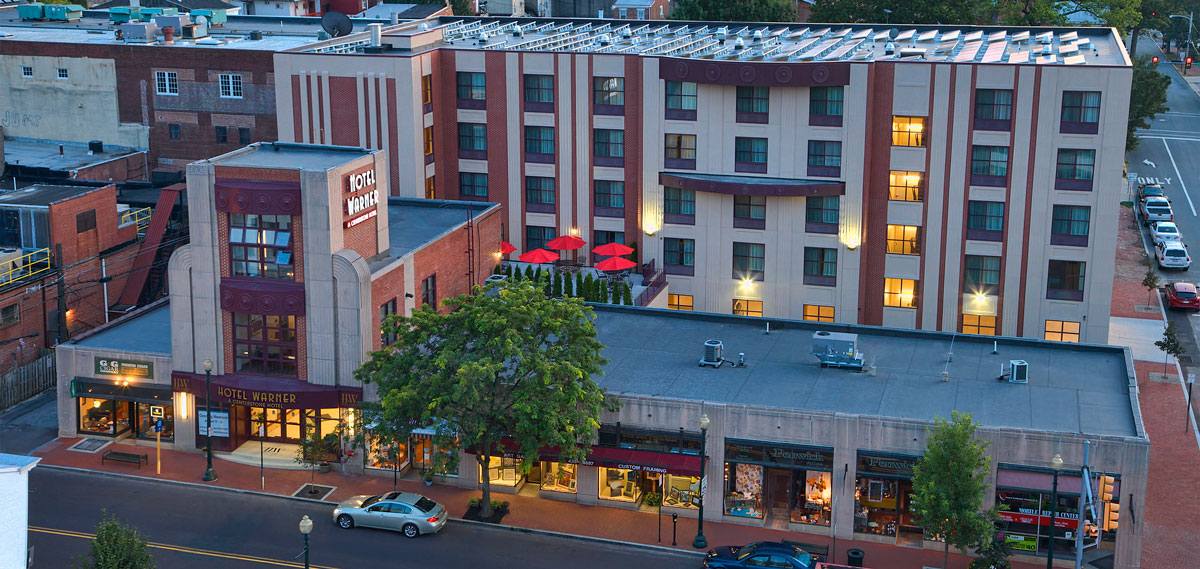 Special Offers:      Hotel Warner  in West Chester