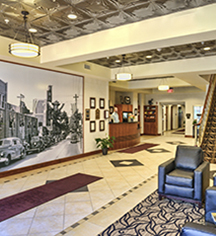 Local Attractions:      Hotel Warner  in West Chester