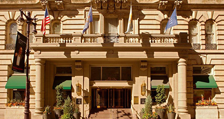 Activities:      The Bellevue Hotel  in Philadelphia