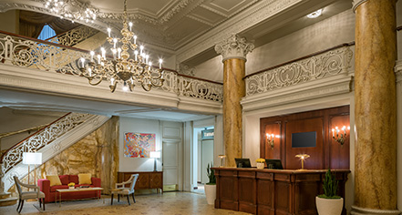 Spa:      The Bellevue Hotel  in Philadelphia