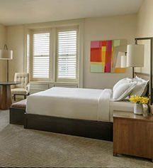 Accommodations:      The Bellevue Hotel  in Philadelphia