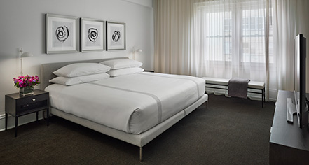 Accommodations:      AKA Rittenhouse Square  in Philadelphia