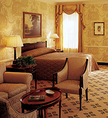 Accommodations:      Williamsburg Inn  in Williamsburg