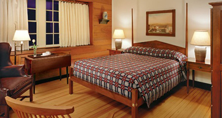 Accommodations:      Williamsburg Lodge, Autograph Collection, and Colonial Houses  in Williamsburg