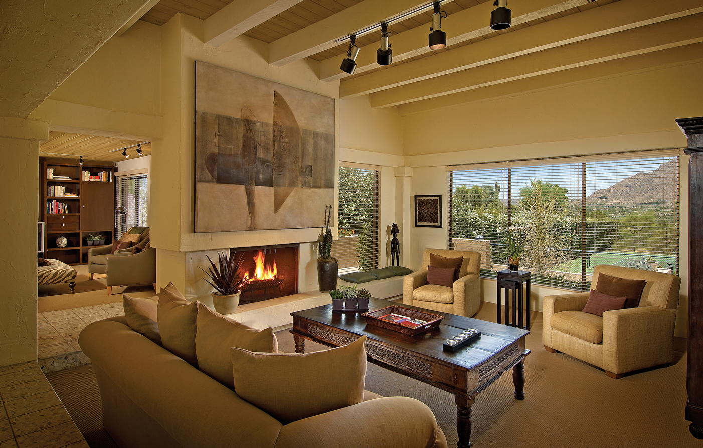 Accommodations:      Sanctuary Camelback Mountain Resort & Spa  in Scottsdale