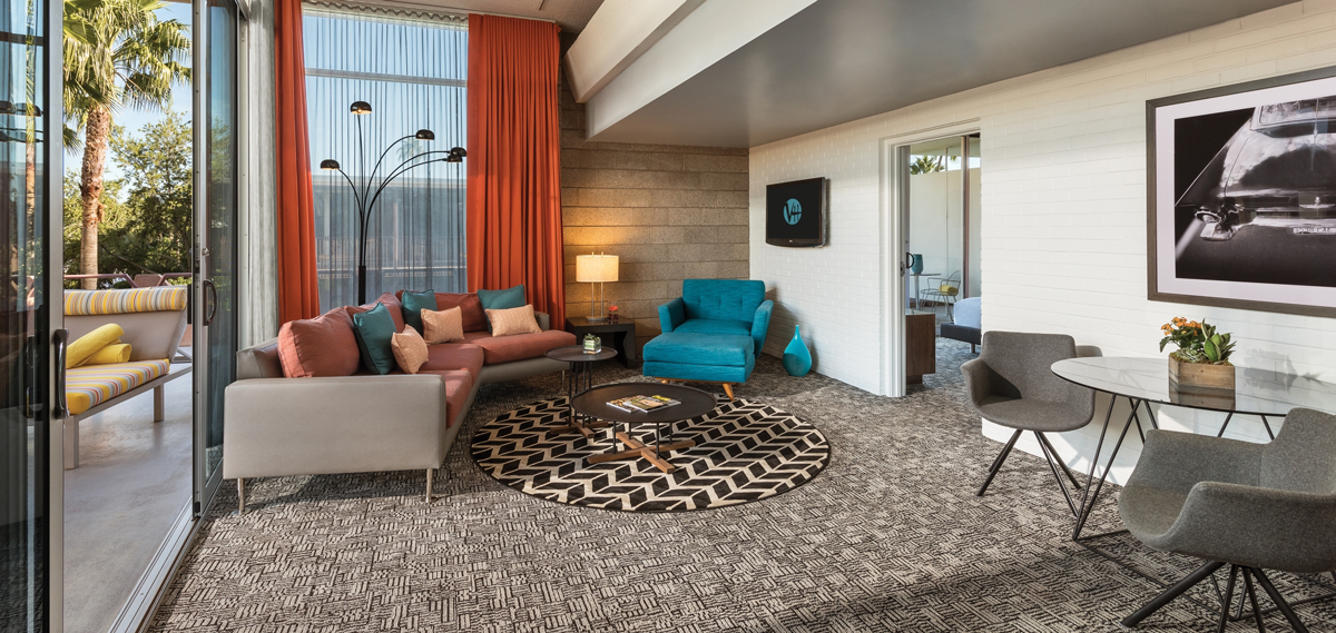 Accommodations:      Hotel Valley Ho  in Scottsdale