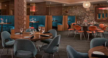 Dining at      Hotel Valley Ho  in Scottsdale