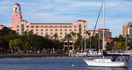 The Vinoy Renaissance St. Petersburg Resort & Golf Club  in St. Petersburg