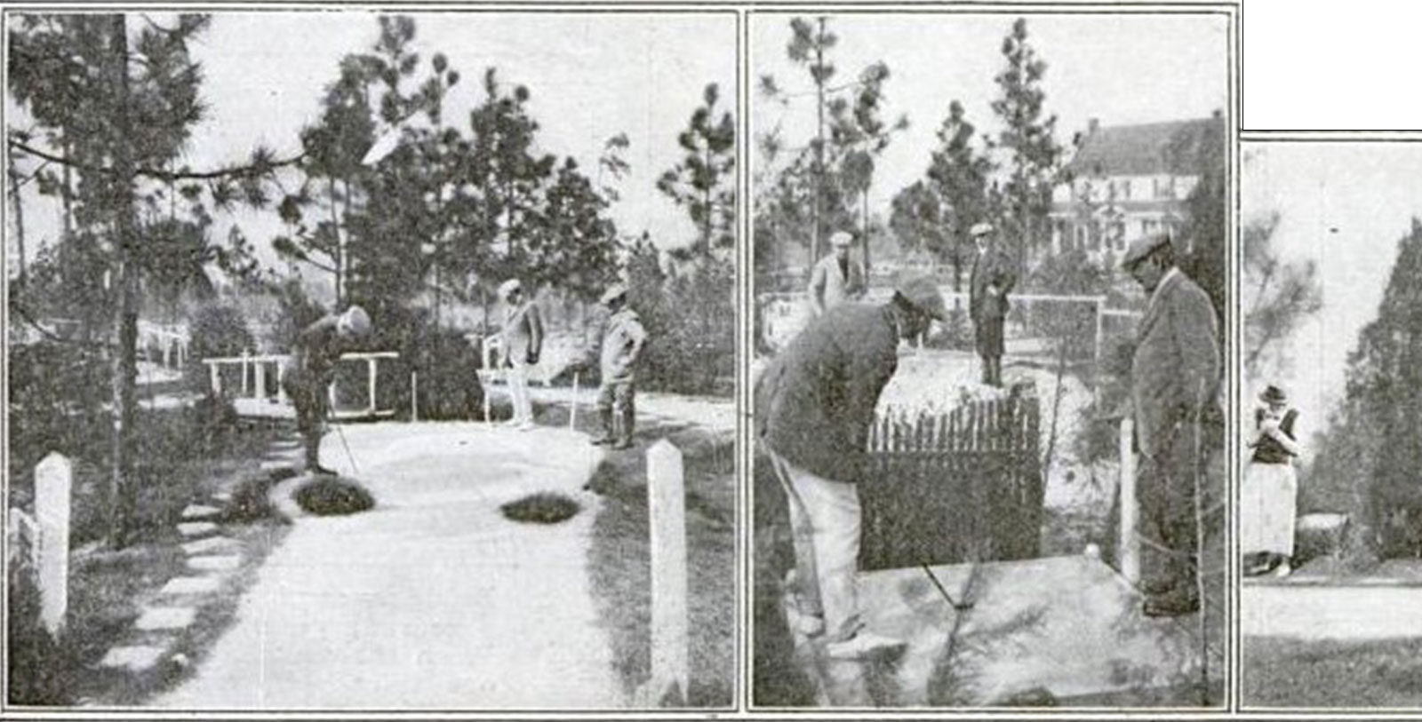 Image of Thistle Dhu Golf Course, Pinehurst Resort, 1895, Member of Historic Hotels of America, Pinehurst, North Carolina, History Mystery