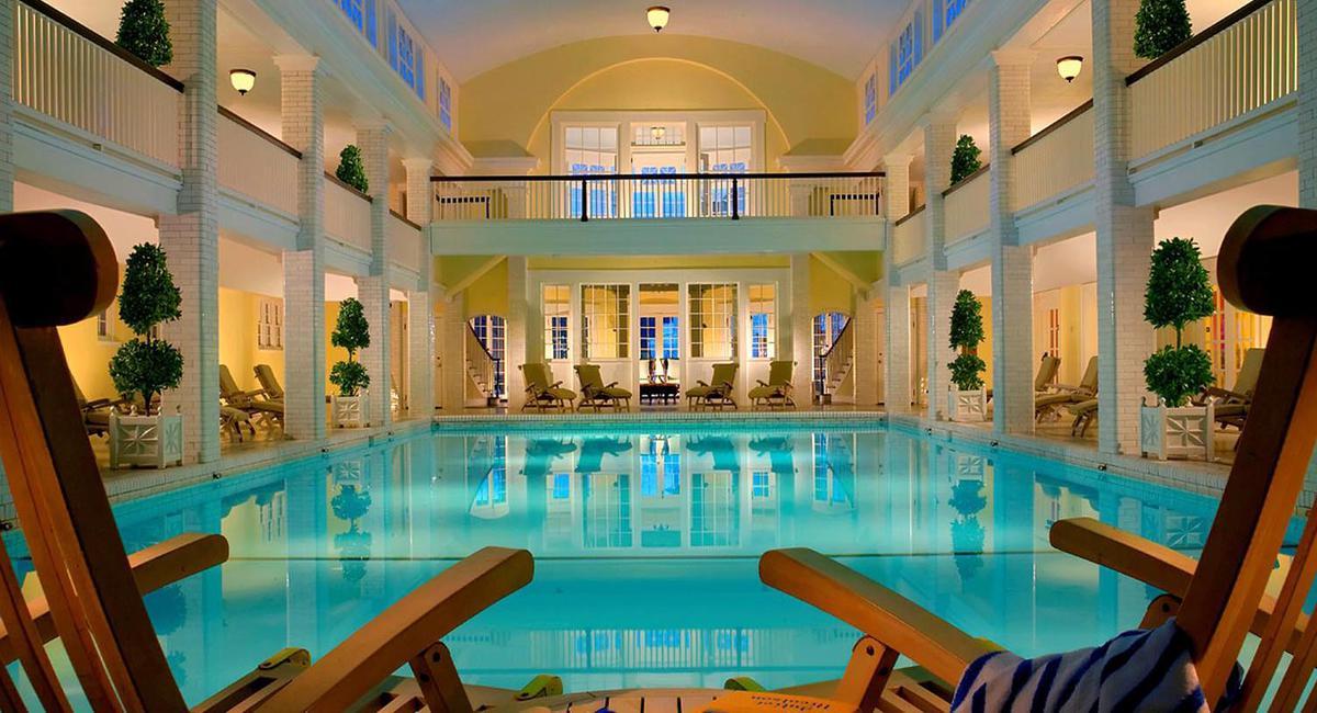 Image of Pool, Omni Bedford Springs Resort & Spa, Bedford, Pennsylvania, 1806, Member of Historic Hotels of America, Spa