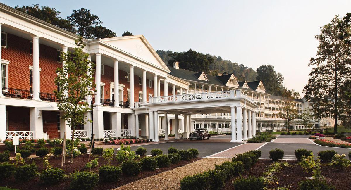 Image of Exterior, Omni Bedford Springs Resort & Spa, Bedford, Pennsylvania, 1806, Member of Historic Hotels of America, Weddings