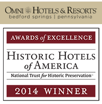 Omni Bedford Springs Resort & Spa  in Bedford