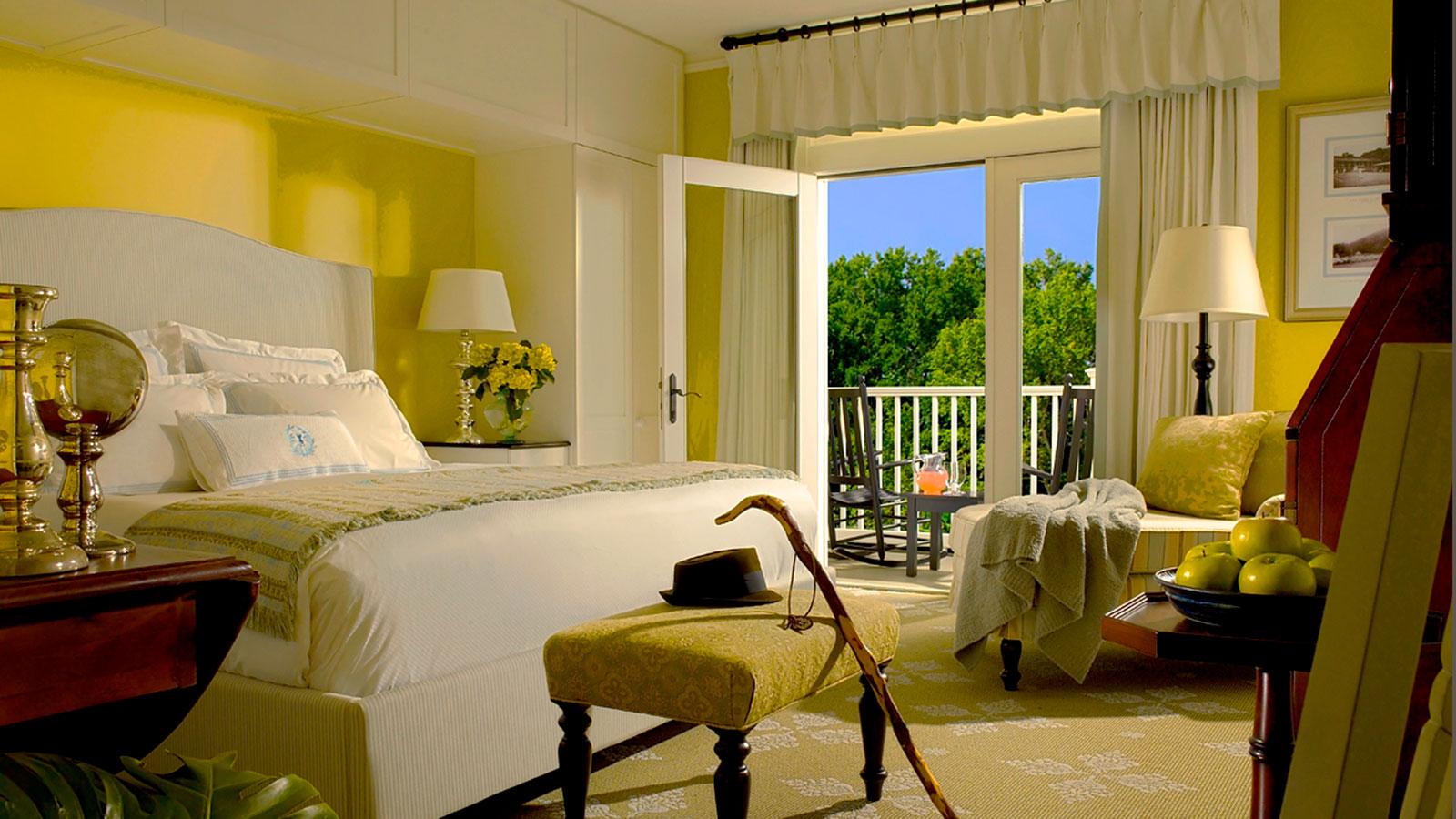 Image of Guestroom Interior, Omni Bedford Springs Resort & Spa, Bedford, Pennsylvania, 1806, Member of Historic Hotels of America, Accommodations